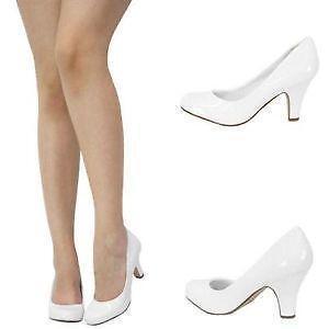 White Pumps: Heels   eBay