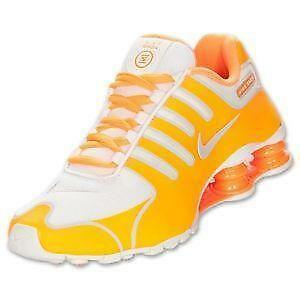 bb38b090db43 Women s Orange Nike Shox