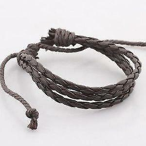 Men S Vintage Leather Bracelet