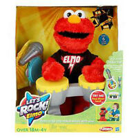Sesame Street Playskool Let's Rock Elmo & Friends complete set