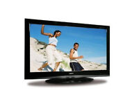 sanyo ce37fd90-b lcd tv. free view. fully working order