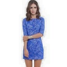 Seduce blue lace dress size 6 Richmond Hawkesbury Area Preview