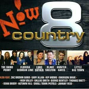 NOW COUNTRY VOL. 8 BRAND NEW FACTORY WRAPPED CD!!!