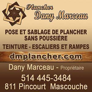 PLANCHER DANY MARCEAU SABLAGE SANS POUSSIERE