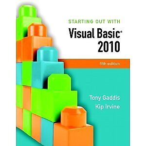 Starting out with Visual Basic 5th