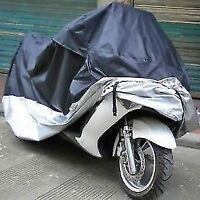 Brand New XXXL Black/Silver Breathable Motorcycle Dust Covers
