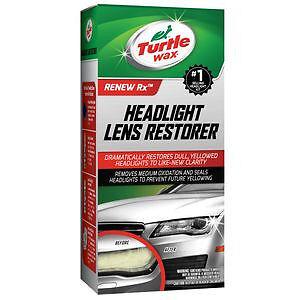 turtle wax t240kt headlight lens restorer cleaner full kit ebay. Black Bedroom Furniture Sets. Home Design Ideas