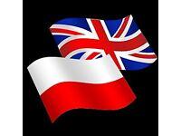 My Polish for your English
