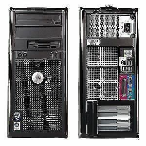 Dell Dual Core Desktop Computer 6.0 GB Ram 160 GB HDD Windows 7
