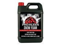 Pro Kleen 5L Cherry Snow Foam