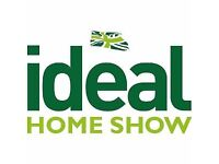 2 tickets Ideal Home Exhibition Olympia - Friday 23rd March Face value £35