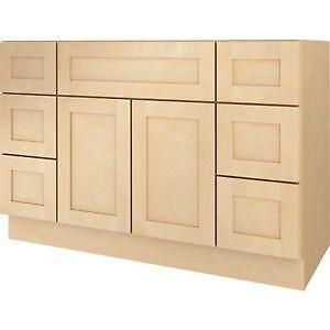48 bathroom vanity cabinet ebay. Black Bedroom Furniture Sets. Home Design Ideas