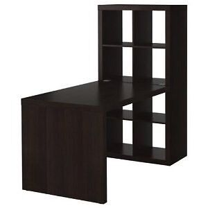 Bureau/Desk IKEA Expedit + 3 tiroirs/drawers