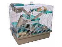 Hamster cage (47 x 50 x 36cm)
