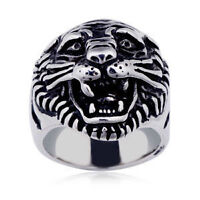 Mens Tigers Head ring, size 9.