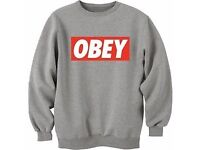OBEY JUMPERS WHOLESALE / CLOTHES / READ !!!! MUST SEE BARGAIN!!!
