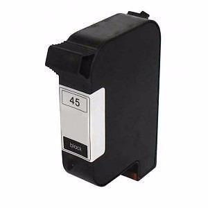 HP 45 (Hp C51645A ) Ink Cartridge Black Remanufactured