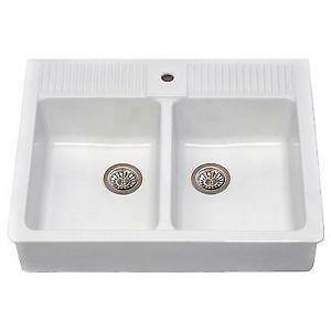 ceramic kitchen sinks uk kitchen sink ebay 5182