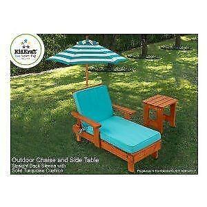 Kids Chaise Lounge set w/ table