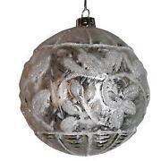 Christbaumkugeln Silber
