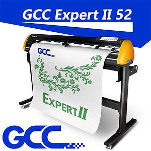 "GCC EX II 52"" Vinyl cutter cutting plotter sign vinyl PC/MAC"