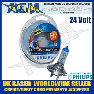 philips masterduty blue vision xenon effect 24v h7 70w. Black Bedroom Furniture Sets. Home Design Ideas