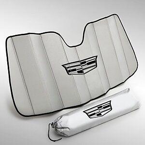 2015-2019 Cadillac Escalade & ESV GM OEM Silver Sunshade Package w/Logo NEW