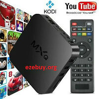Quad Core MXQ Android TV