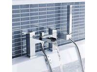 Zbb4 waterfall basin mixer tap