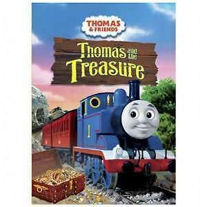 Dvd Thomas and Friends Thomas and the treasure (6 stories)   DV