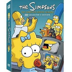 The Simpsons - New DVD set and Used VHS set