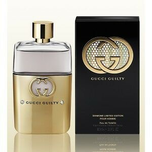 Gucci Guilty Diamond Limited Edition T for Men (White Box)