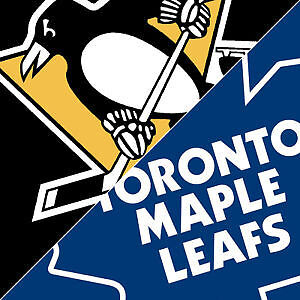 ***Pittsburgh Penguins @ Toronto Maple Leafs Tickets April 8***