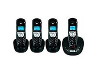 BT Synergy 4100 Cordless Answerphone System (4 handsets)
