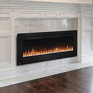 BNIB MODERN HIGH QUALITY RECESSED FIREPLACE - LED 'PLEASE READ'