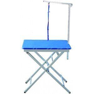 "Table transportable toilettage 23,5"" X 17,5"" incluant support"