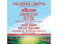 One ticket for The Downs festival in Bristol
