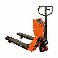 New Hand Pallet Truck with Scale $799.99! Big Sale