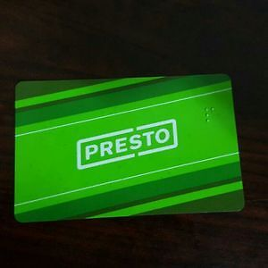 Unregistered $300 Presto Card for $150 - WILL VERIFY WITH YOU