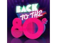 Male and Female vocalists wanted for 80s tribute show