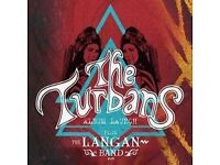 THE TURBANS DEBUT ALBUM LAUNCH - LONDON W/ THE LANGAN BAND