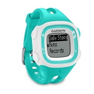 Garmin forerunner 15 with heart rate monitor.