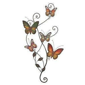 metal butterfly wall decors - Wall Decors