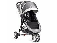 Baby Jogger City Mini Stroller - Single, Grey *good condition*