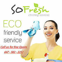 SoFresh Cleaning - Best Service in the GTA 100% Guaranteed