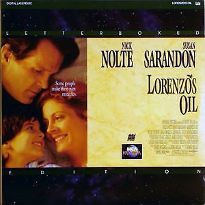 Lorenzo's Oil-Letterboxed Edition (2 laserdiscs)Excellent shape!