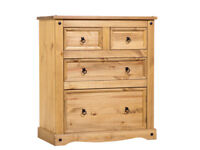 Good Quality Corona Pine Chest of Drawers For Sale