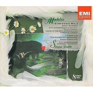 Simon Rattle - Mahler Symphony No 3 Songs 2Cd (NEW 2CD)