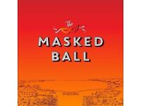 Masked ball may 2018 ticket