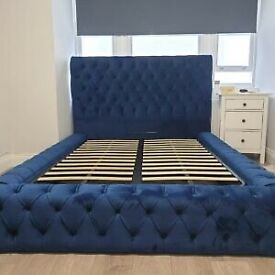 FACTORY PRICES--ROYAL AMBASSADOR BED IN ALL SIZES & CRUSH/PLUSH COLORS-GRAB YOUR FAVORITE NOW